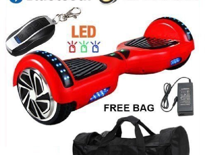 Hoverboard Balancing Scooter électrique Overboard Board Skate Sac Bluetooth MER