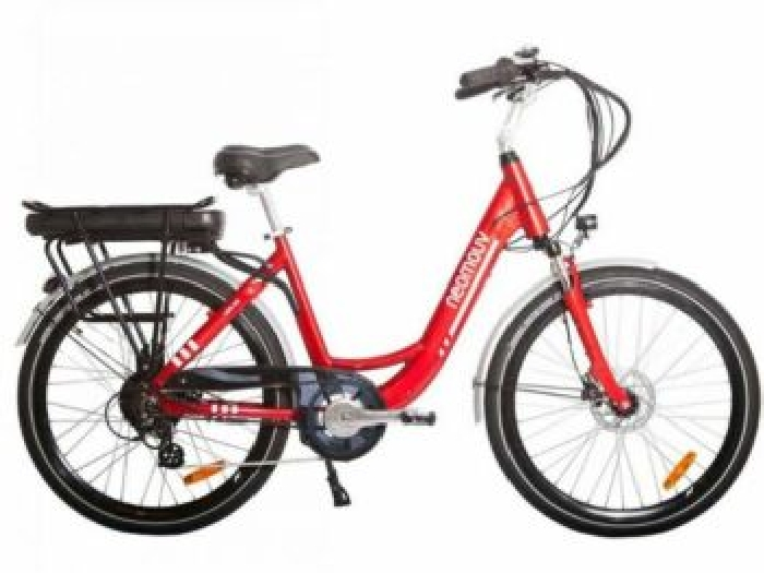 VELO A ASSISTANCE ELECTRIQUE CARLINA rouge 13A NEXUS7 26