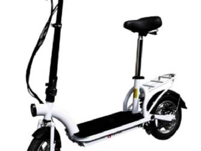 trottinette electrique pliable symex moteur 300 w batterie lithium samsung noir velo. Black Bedroom Furniture Sets. Home Design Ideas