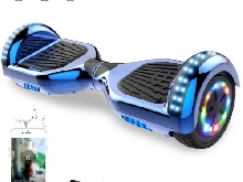 6,5 pouces hoverboard électrique LED LIGHTS,BLUETOOTH,scooter gyropode