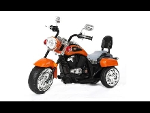 Moto Tricycle électrique enfant Harley 90 cm Orange