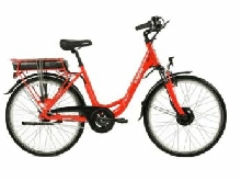 VELO A ASSISTANCE ELECTRIQUE EASYSTREET M01 NEXUS7 rouge brillant