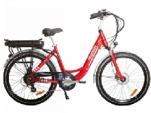 VELO A ASSISTANCE ELECTRIQUE CARLINA rouge 13A NEXUS7 28
