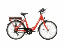 VELO A ASSISTANCE ELECTRIQUE EASYSTREET M01 D7 rouge brillant