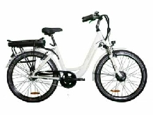 VELO A ASSISTANCE ELECTRIQUE CARLINA blanc 16A NEXUS7 26
