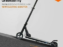MEGAWHEELS Trottinette Électrique Scooter Pliant Adulte 23km/h 250W E-BIKE Noir
