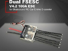 FLIPSKY Dual FSESC V4.2 100A ESC for Skateboard RC Car Drone E-bike E-scooter P#