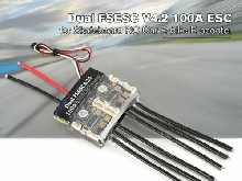 FLIPSKY Dual FSESC V4.2 100A ESC for Skateboard RC Car Drone E-bike E-scoo MZ