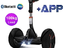 Global 10.5'' Trottinette Électrique 2 Roues Bluetooth Self Balancing Scooter FR