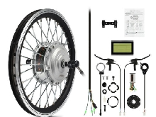 AFTERPARTZ 250W 26'' Kit de conversion de vélo électrique E-bike Conversion Kit