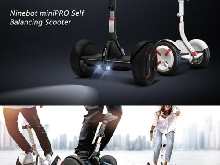 Ninebot E-Balance Board Smart Trottinette éLectrique Skateboard BT IP54 18km/H