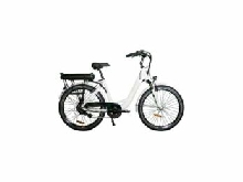 VELO A ASSISTANCE ELECTRIQUE CARLINA version Hydraulique BLANC 16A 28