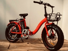 vélo électrique pliant B'Cloo fat bike electric folding bicycle