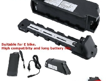 48V 10AH 480W Batterie lithium ion E bike Vélo électrique Alternative EU FR IP54