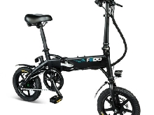 FIIDO E-bike Folding Moped Antichoc Vélo électrique 25km/h LCD screen blanc noir