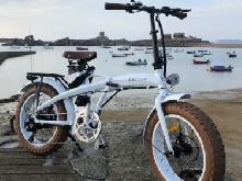 B'Cloo vélo électrique Fat bike electric bicycle elektrofahrrad