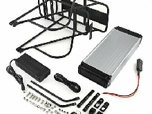 E-Bike Batterie 48V 18AH 1000W Vélo électrique Bicyclette Kit de conversion ML