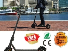Trottinette Electrique E-scooter Patinette Adulte Pliable Moteur 25km/h 350W LED
