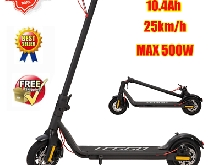 Trottinette Électrique Pliable, Adulte E-scooter patinette 350W moteurs 25KM/H
