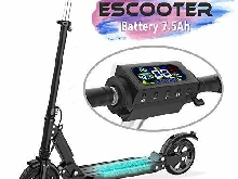COLORWAY Trottinette électrique, Electric Scooter Batterie 7.5Ah (black)