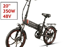 Samebike Pliant 48V 350W Moped Bicycle 20