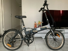 VELO ELECTRIQUE  e-HOPTOWN 500 BTWIN  GRANDE CHARGE