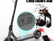 MARKBOARD Trottinette Electrique Pliable, Electric Scooter Batterie (Noir)