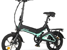 Samebike JG7186 36V 250W 7.5A 16inch Smart Folding Electric Moped Bike 25km/h To