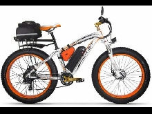 Rich BIT RT022 1000W vélo électrique Smart e-Bike 48V*17Ah Li-Batterie Orange