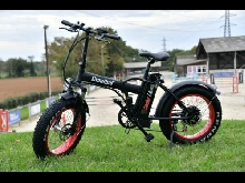 Velo Electrique de plage. Pliant. FAT BIKE. 35km/h. 80kms full options