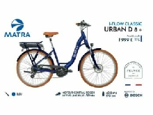 VELO A ASSISTANCE ELECTRIQUE MATRA I-FLOW CLASSIC URBAN D8 S