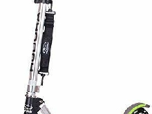 Hudora - 14695/01 - Trottinette - Big Wheel GS 205 - Noir/Vert (Noir/vert)