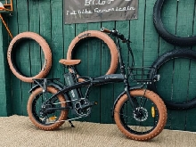 vélo électrique pliant fat bike  elektro fahrrad  electric bike  KALON