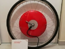 Copenhagen wheel by Superpedestrian universal 9 speed rim brake e-bike wheel.